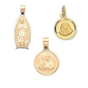 Virgin Mary Medals